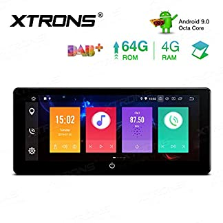 XTRONS-1025-8-Core-4GB-RAM-64GB-ROM-Android-Double-DIN-Autoradio-mit-Touchscreen-Auto-Multimedia-Player-Android-90-Octa-Core-Autostereo-2DIN-CAR-Auto-Play-4G-Bluetooth-DAB-OBD2-TPMS-UNIVERSAL