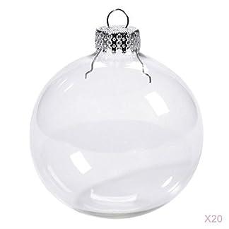 MagiDeal-20er-Set-Weihnachtskugeln-Transparent-Verzierung-DIY-Kunststoff-Kugel-Christbaumschmuck-in-verschiedenen-Gren
