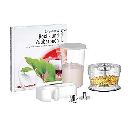 ESGE-Zauberstab-M-160-G-Gourmet-Stabmixer-wei-mit-Zubehr-bis-15000-UMin-90610