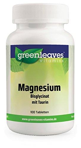 Magnesium Bisglycinat mit Taurin 100 mg