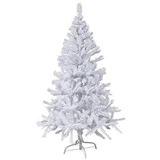 150-cm-hoher-Christbaum-in-wei-Weihnachtsbaum-Tannenbaum-Kunststoff-150-cm-hoch-mit-Stnder