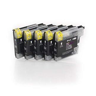 5er-Set-Tintenpatronen-kompatibel-zu-BROTHER-LC985-5x-schwarz-Druckerpatronen-geeignet-fr-BROTHER-DCP-J125-J140W-J315-J315W-J515W-MFC-J220-J265W-J270W-J280W-J410-J415W