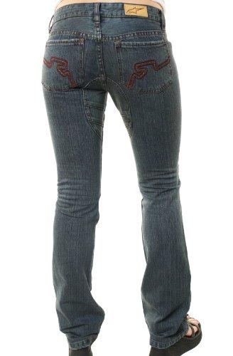 Alpinestars Frauen Astars Skinny Bein SW. Caroline Jeans Medium Blau