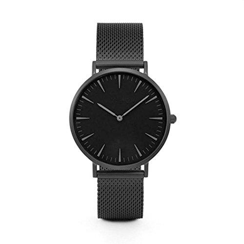 SUNNSEAN–UhrMode-Frauen-Kristallsilber-Edelstahl-analoge-UhrLuxus-Mannner-Edelstahl-Uhr-Analog-Quarz-Armband-Armbanduhren-Neu-Elegant-Armbanduhr-Unisex-Armbanduhr-Mode-Klassisch-Dnn-Armbanduhr
