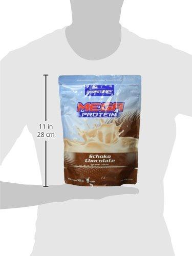 Energybody Mega Protein, Schoko, 1er Pack (1 x 500 g Beutel)