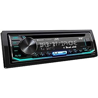 JVC-KD-DB902BT-DAB-Autoradio-mit-CD-Bluetooth-Freisprecheinrichtung-Soundprozessor-USB-Android-Spotify-Control-4×50-Watt-Farben-einstellbar-schwarz