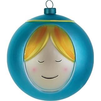 Alessi-Madonna-Weihnachtsbaumkugel-aus-mundgeblasenem-Glas-handdekoriert-1er-Pack-1-x-4-Stck