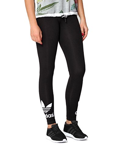 adidas Damen Leggings Trefoil