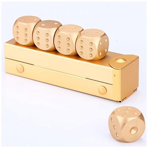 LZWIN-5-Stcke-Wrfeln-Sammlung-Set-Przision-Aluminiumlegierung-Gold-Farbe-Peststoffphase-Wrfel-Mnner-Geschenk