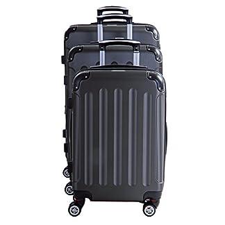 P-Collection-Koffer-Trolley-Handgepck-Hartschale-4-Zwillingsrollen
