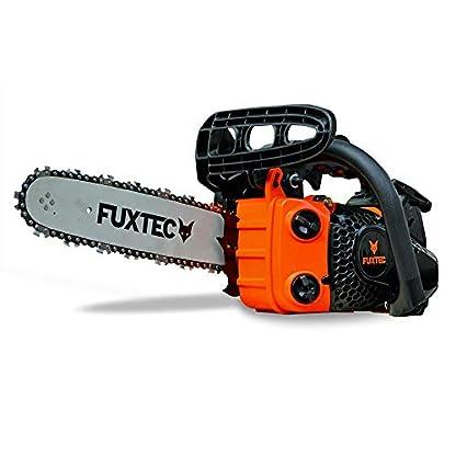 FUXTEC-Benzin-Baumpflegesge-Kettensge-FX-KS126-Schwertlnge-30-cm-12-Zoll-Schnittlnge-26-cm-21-ms-Schnittgeschwindigkeit-automatische-Kettenschmierung-inkl-Schwertschutz