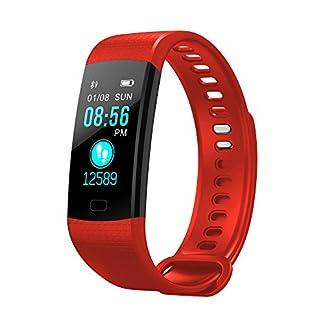 Yumimi88-Smart-Watch-Sport-Fitness-Aktivitt-Herzfrequenz-Tracker-Blutdruck-Uhr-Kalorienzhler-PulsuhrenSchrittzhler-Vibrationsalarm-Anruf-SMS-Pulsuhr-Fitness-Armband