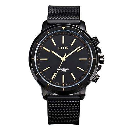 Smartwatch-Stylische-Uhr-GOKOO-LITE-Wasserdicht-5ATM-Business-SOS-Sport-Smartwatch-fr-Frauen-und-Mnner-mit-Remote-Kamera-Schrittzhler-Kalorienzhler-fr-Android-und-IOS-Handys