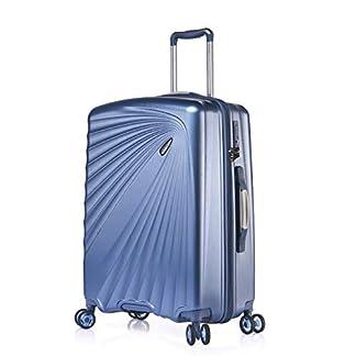 Verage-Leichter-Hartschalen-Koffer-Handgepck-TSA-integriert-S-M-L-Set-von-Kinetic-4-Rollen-ABSPC-Trolley-Schwarz-Blau-Burgund-Champagne-mit-Sicherheits-Reiverschluss