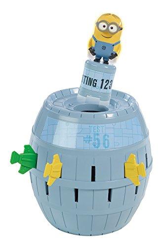 TOMY-Kinderspiel-Pop-Up-Minions-hochwertiges-Aktionsspiel-fr-die-ganze-Familie-aus-dem-Film-Ich-Einfach-unverbesserlich-verfeinert-die-Geschicklichkeit-Ihres-Kindes-ab-4-Jahre