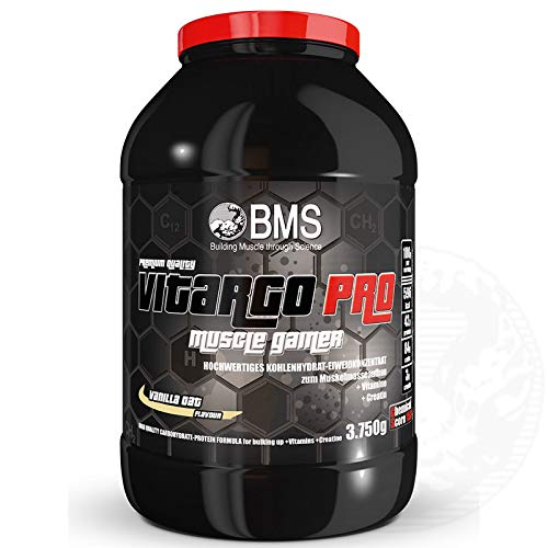 BMS Vitargo Pro Muscle Gainer 3750g Dose Vanille Oat