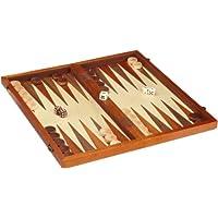 Philos-2524-Schach-Backgammon-Dame-Set-magnetisch-Feld-43-mm-Knigshhe-75-mm
