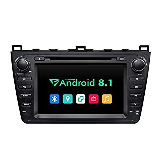 eonon-GA9298B-fr-Mazda-6-2009-2010-2011-2012-Android-81-2G-RAM-32G-ROM-Quad-Core-203-cm-HD-Touchscreen-Audio-Video-Stereo-DVD-GPS-kompatibel-mit-Bose-System-Bluetooth-4G-Dongle-WiFi
