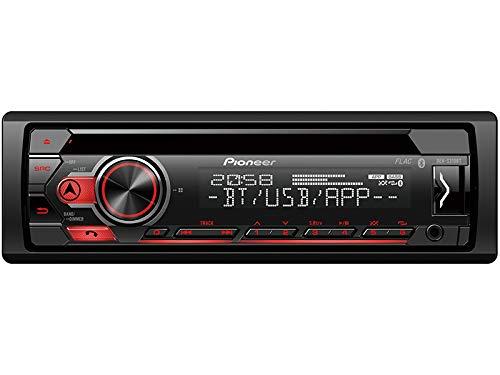 Pioneer-DEH-S310BT-1-DIN-Autoradio-mit-Bluetooth-Musikstreaming-Android-fr-Ford-Ka-RU8-ab-082008-schwarz