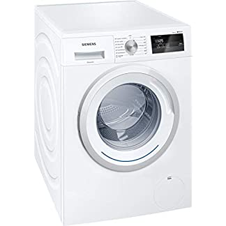 Bosch-iQ300-Waschmaschine-freistehend-Frontbeladung-7-kg-1400-Umin-A-weie-Waschmaschine-Waschmaschinen-Freistehend-Frontlast-Wei-Drehregler-Drehregler-Links-LED-WM14N060FF