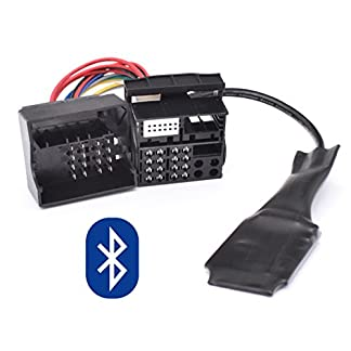 Bluetooth-Musik-Adapter-geeignet-fr-BMW-E39-E46-E53-X5-Z4-E83-X3-Flachpin-40pin-Quadlock-New-Generation-Radio