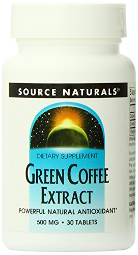 Grüner Kaffee Extrakt – Fatburner und Energie – 500 mg – 30 Tab