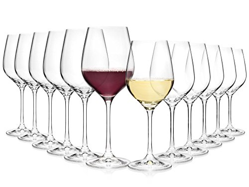 Bluespoon-Weinglser-Set-aus-Kristallglas-12-teilig-Fllmenge-520-ml-400-ml-Perfektes-Arrangement-bestehend-aus-Rotwein-und-Weiweinglsern