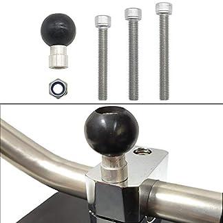 housesweet-Motorrad-Handy-Halterung-befestigt-Kugelkopf-Zubehr-M8-Schraube-Ball-Modifikation-Refit-Kit-befestigt