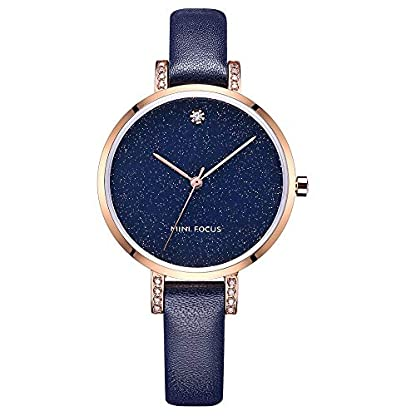 MINI-FOCUS-Damen-Quartz-Uhr-Einfache-Casual-Armbanduhr-fr-Frauen-0159L