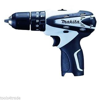Makita-HP330DWZ-Akkubohrer-108-V-Li-ion-kabellos-in-wei-nur-Korpus