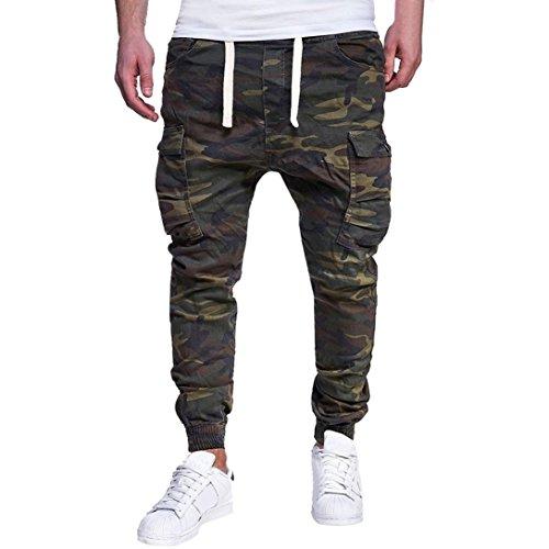 Longra-Mode-Herren-Trainingshose-Jogginghose-Sporthose-mit-Camo-Muster-Street-Style-Hose-Herren-Biker-Jeans-Hose-Cargo-Taschen-Stretch-Denim-Slim-Fit-Freizeithose