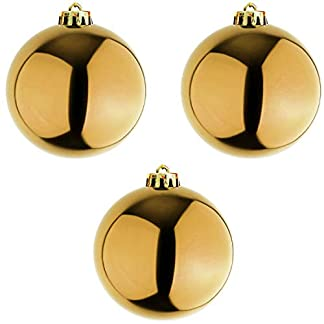 Mojawo-3-Stck-XXL-Christbaumkugeln-Weihnachtsbaumkugeln-Baumschmuck-Gold–20cm-Schmuckkugeln