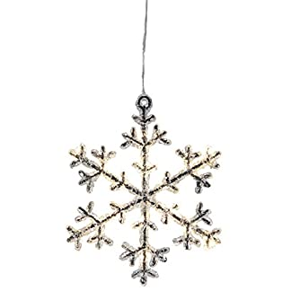 LED-Acryl-Schneeflocke-Icy-Star-16-warm-white-LED-ca-18-x-16-cm-schwarz-klar-Timer-batteriebetrieben