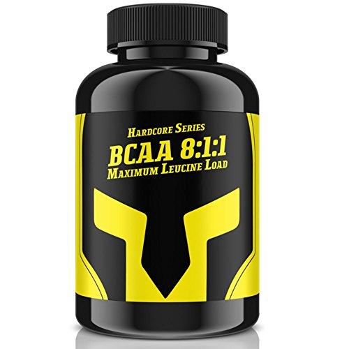 BCAA 8:1:1 – MaXimum Leucine Load | 240 Tabletten – Hochdosiert mit 3000 mg Tagesbedarf für 40 Tage Anwendung | Leucin, Isoleucin & Valin | Muskelaufbau + Definition | Premium Qualität Made in Germany