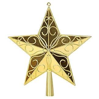 MARRYME-Weihnachtsbaum-Stern-Baum-Stern-Weihnachtsbaumspitze-Christbaumspitze-Weihnachtsbaumschmuck-Deko