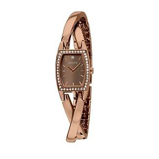 Accurist-Damen-Quarzuhr-mit-Analog-Anzeige-und-Edelstahl-Armband