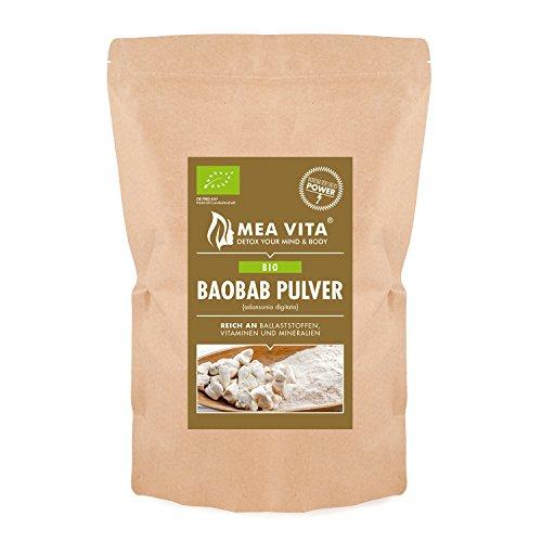 MeaVIta Bio Baobab Pulver, 1er Pack ( 1 x 1000g)