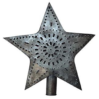 BCD-Stern-gro-Christbaumspitze-241-cm-Perfekt-fr-Country-Weihnachtsbaum