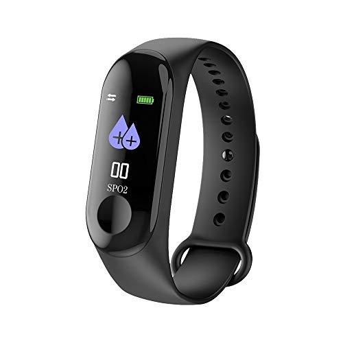 Fuibo-Smartwatch-Farbbildschirm-BlutdruckPulsmesser-Smart-Armband-Uhr-Schrittzhler-Armbanduhr-Sport-Fitness-Tracker-Armband