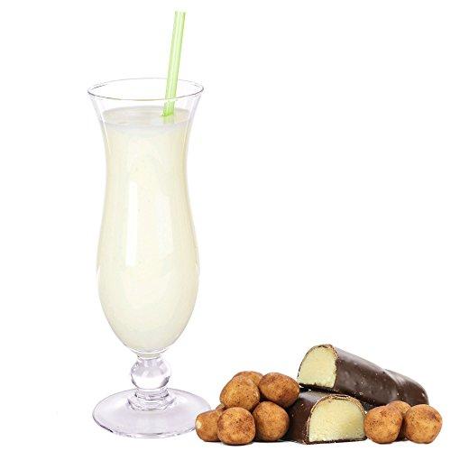 Marzipan Geschmack Proteinpulver Vegan mit 90% reinem Protein Eiweiß L-Carnitin angereichert für Proteinshakes Eiweißshakes Aspartamfrei (1 kg)