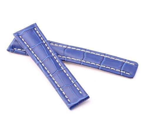 BOB-Herren-Faltschlieband-Alligator-Style-kompatibel-Breitling-2218-mm