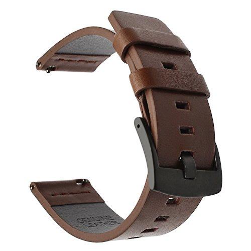 Fr-Samsung-Gear-S3-FrontierClassic-Armband-TRUMiRR-22mm-Oily-Leder-Smart-Uhrenarmband-Quick-Release-Handschlaufe-fr-Samsung-Gear-S3-Classic-R770-Frontier-R760