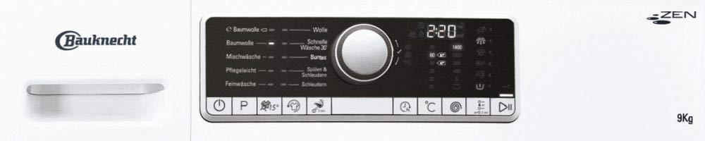 Bauknecht-Waschmaschine-9Kg-Zen-Technologie-1400-Umin-A-Frontlader