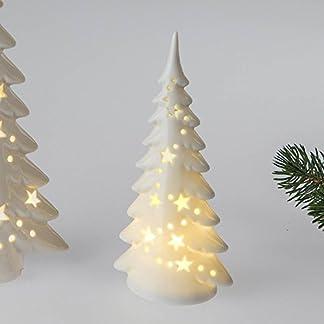 Deko-Baum-mit-LED-Licht-18-cm-aus-wei-glasiertem-Porzellan-mit-Durchbruch