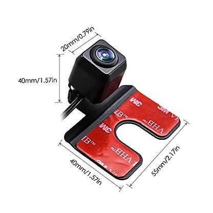 AUTO-VOX-CMD24-HD-Auto-Rckfahrkamera-Rckansicht-Kamera-ideal-fr-EU-Kennenzeichen-EinparkhilfeRckfahrhilfe-mit-Weitwinkelobjektiv-IP68-wasserdicht-fr-die-meisten-Automodell-inklusiv-TruckRV-