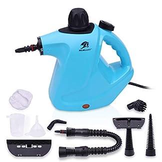 MLMLANT-dampfreiniger-Mehrzweck-groe-Kapazitt-450ML-Wassertank-mit-Handdampfreiniger-Druck-mit-9-teiliges-Zubehr-fr-Fleckenentfernung-Teppiche-Vorhnge-Autositze-mehrweg