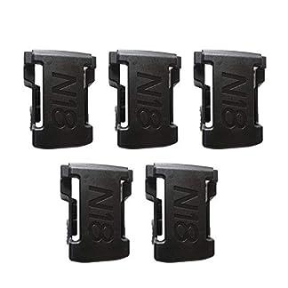 5-STCKE-Batteriehalterungen-fr-M18-48-11-1850-Lagerregal-Rack-Stnder-Halter-Slots-Aufhnger-Bohrmaschine-Batterie-Werkzeuge-Zubehr-Schwarz