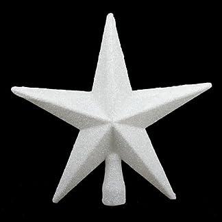 Baumspitze-Wei-Glitter-Star-20-cm