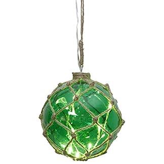 StarNoah-Glaskugel-mit-8-LED-Lichterngrn-mit-Garnnetz-transparent-Kabel-Durchmesser-14-cm-Vierfarb-Karton-457-41