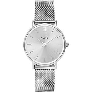 Cluse-Damen-Armbanduhr-Analog-Quarz-Edelstahl-CL30023